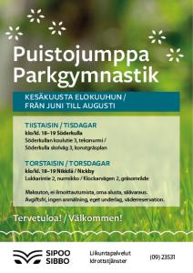 Parkgymnastik 2021