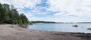 Norrkullalandet hiekkapohjainen uimaranta