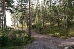 Norrkullalandet polku
