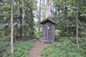 Östholmen ulkohuussi
