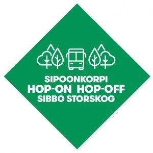 Sibbo storskog Hop-on Hop-off logo.