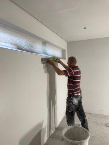 Tmi StevArt är specialiserad i målnings- och avjämningsarbeten.