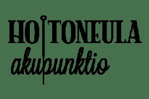 Logotyp för akupunktionsföretaget Hoitoneula, design av reklambyrån Yessies.